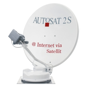 Antena satelitarna AutoSat 2S 85 Control Internet / Twin TV
